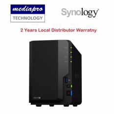 Synology Diskstation Ds218+ 2-Bay Nas ( Without Hdd ) By Mediapro.