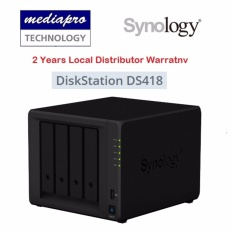 Synology Diskstation Ds418 4-Bay Nas ( Without Hdd ) By Mediapro.