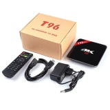 Retail Price T96 Pro S912 Octa Core 3G 16G Smart Tv Box Android 6 4K Kodi Fully Loaded Intl