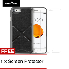 Buy Take Fans Yuppie Series Premium Pu Leather Case For Iphone 7 Plus 5 5 Inch Black Take Fans