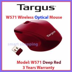 Targus W571 Wireless Optical Mouse - Deep Red
