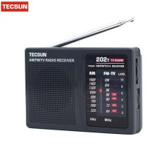 Best Price Tecsun R 202T Fm Am Tv Radio Receiver Mini Portable Size Simple To Control Economic Battery Consume Than Digital Popular Model Intl