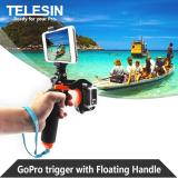 Discount Telesin 8 Floating Bobber Hand Grip Handle Pole With Pistol Trigger Phone Clamp Holder For Gopro Hero 6 5 And Similar Action Camera Telesin On Singapore