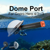 Sale Telesin Dome Port Diving Photography Floaty Handle For Gopro Hero 4 Camera Os802 Online On Singapore