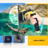 Store Telesin T05 Gopro Hero 5 Accessories Gopro Dome Port Underwater 6 Gopro Dome Port Waterproof Cover Case Floating Bobber Handle Trigger For Gopro Hero 5 Yellow Tm060 Intl Telesin On China