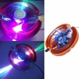 Price Temperature Control Colorful Led Pc Cpu Cooler Cooling Fan For Amd 754 Intel 775 Intl Not Specified Online
