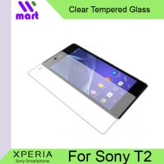 Tempered Glass Screen Protector (Clear) For Sony Xperia T2 Ultra
