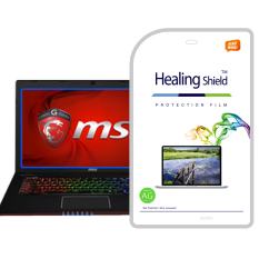 The HealingShield MSI GE70-2PE/2PC Matte Type Screen Protector + TOP Surface Protector Skin