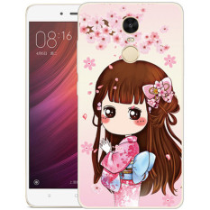 Sale Thin Silicone Tpu Cartoon Mountain Landscape Transparent Soft Phone Cover Case For Xiaomi Redmi Note 4 As Shown Oem Wholesaler