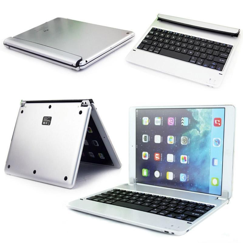 Thin Smart Cover Wireless Bluetooth Keyboard Stand Case For iPad 6 Air 2 - intl Singapore