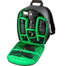 Best Offer Tigernu T C6003 Rain Proof Backpack Dslr Camera Lens Case Bag Rucksack For Canon Nikon Camera Green Insert