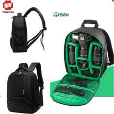 Tigernu T-C6005 Waterproof Camera Backpack DSLR Camera Bag (black/green)