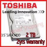Price Toshiba 3 5 Sata 2Tb Internal Hdd Harddisk Toshiba Original