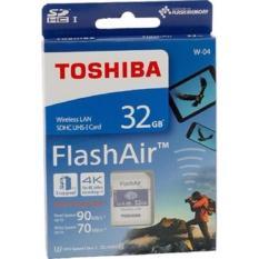Discounted Toshiba Flashair W 04 32Gb Wireless Wifi Sdhc Memory Card