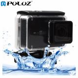 Sale Touch Screen Waterproof Housing Protective Case With Buckle Basic Mount And Scr*w For Xiaomi Xiaoyi Ii 4K Camera Waterproof Depth 45M Sunsky Original