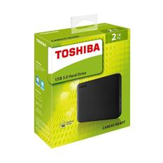 Sale Toshiba 2Tb Ext Hdd Canvio Ready Portable Harddisk Black Toshiba On Singapore