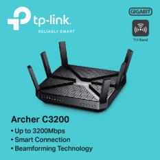 Sale Tp Link Archer C3200 Wireless Tri Band Gigabit Router Singapore