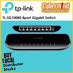 Tp Link Tl Sg1008D 8 Port Gigabit Desktop Switch Singapore