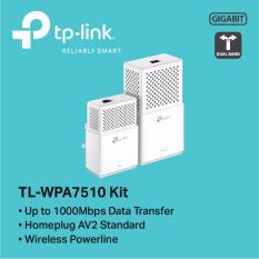 Sale Tp Link Tl Wpa7510 Kit Av1000 Gigabit Powerline Ac Wi Fi Kit Online On Singapore