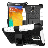 Tpu Pc Armor Hybrid Case Cover For Samsung Galaxy Note 3 White Deal