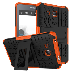 Best Deal Tpu Pc Armor Hybrid Case Cover For Samsung Galaxy Tab A 7 Inch 2016 Sm T280 Orange Intl
