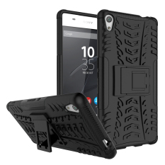 Price Tpu Pc Armor Hybrid Case Cover For Sony Xperia Xa Ultra Sony Xperia C6 Ultra Black Intl Oem New