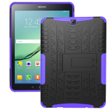 Discounted Tpu Tough Hard Case Cover For Samsung Galaxy Tab S2 T710 Galaxy Tab S2 8 Inch Sm T710 Purple Intl