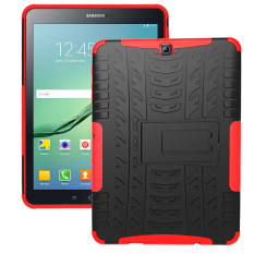 Latest Tpu Tough Hard Case Cover For Samsung Galaxy Tab S2 T810 Galaxy Tab S2 9 7 Sm T810 Red Intl