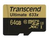 Buy Transcend 64Gb Ultimate 633X Microsdxc Class 10 Uhs I U3 W Adapter Transcend Original