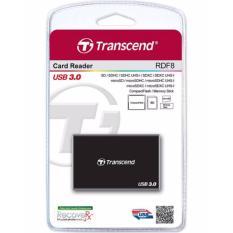 List Price Transcend Rdf8 Usb 3 Card Reader For Sd Microsd Cf Ms Etc Transcend