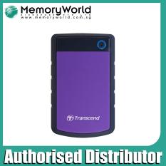 Purchase Transcend 2Tb Storejet 25H3P Purple Usb 3 Portable Hard Drive Online