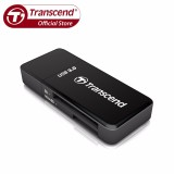 Price Transcend Usb 3 Sd And Microsd Card Reader Black Transcend Original