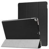 Tri Fold Stand Smart Leather Case For Ipad Pro 12 9 2017 Black Intl Coupon