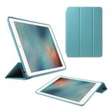 Tri Fold Stand Wake Sleep Leather Case For Ipad Pro 9 7 Inch Baby Blue Intl Lowest Price