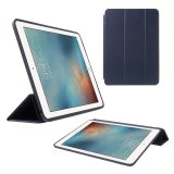 The Cheapest Tri Fold Stand Wake Sleep Pu Leather Cover For Ipad Pro 9 7 Inch Dark Blue Intl Online