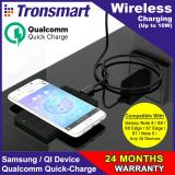 Retail Wireless Tronsmart Chocolate Quick Charge Qi Wireless Charging Pad For Iphonex Samsung Note8 S8 S8 S7 S7 Edge S6 And Other Qi Compatible Devices