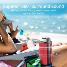 Buy Tronsmart Element T6 25W Portable Bluetooth Speaker With 360° Stereo Sound And Built In Microphone Red Intl Tronsmart Online