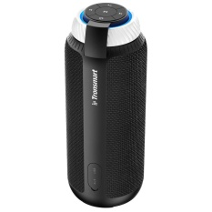 Review Tronsmart Element T6 25W Portable Bluetooth Speaker With 360°Stereo Sound And Built In Microphone Black Intl On China