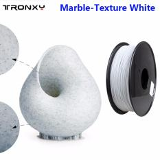 Tronxy MABLE-LIKE Marble White PLA 3D Printer Filament, 1 kg Spool, 1.75