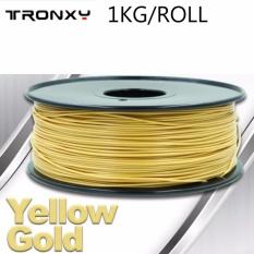 Where Can You Buy Tronxy Pla Filament 3D Printer Pla Filament For Diy 3D Printer Kit 1 75Mm 1Kg Roll Color Gold Yellow Intl