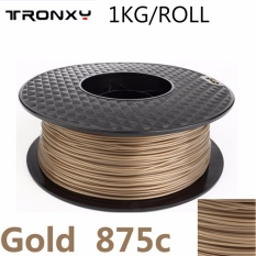 Coupon Tronxy Pla Filament Best 3D Filament For Homemade 3D Printer 1 75Mm 1Kg Roll Color Gold Intl