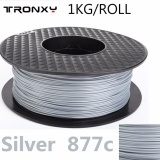 Sale Tronxy Pla Filament Best Filament 3D Printer For Personal 3D Printer 1 75Mm 1Kg Roll Color Silver Intl China Cheap