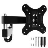 Best 1Pc Black Tv Wall Mount Bracket Universal Rotated Holder
