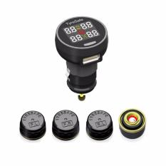Tyresafe Tp200 Tpms Diy Wireless Tire Pressure And Temperature Monitor System With Usb Charger Support Bar And Psi Discount Code