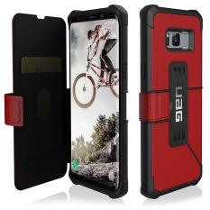 Get The Best Price For Uag Samsung Galaxy S8 Metropolis Case Magma Black