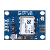 Compare Prices For Ublox Neo 7M 000 Gps Module Mwc Apm2 5 Replace Neo 6M Gygpsv3 Neo7M Intl