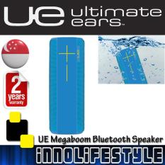 Ue Ultimate Ears Megaboom Lifeproof Bluetooth Speakers Wavy Blue Reviews