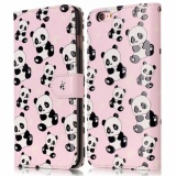 Buy Ueknt Pu Leather Folio Case For Apple Iphone 6 Plus Iphone 6S Plus Panda Wallet Flip Stand Cover Case Card Slots Embossed With Panda Design Intl Ueknt Cheap
