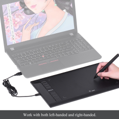 Cheapest Ugee M708 Ultra Thin Draw Digital Graphics Drawing Painting Tablet Pad 10 6 Active Area 2048 Level Pressure Sensitivity Usb Port Black Intl Online