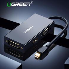 Buying Ugreen 3 In 1 Mini Displayport Thunderbolt To Hdmi Dvi Vga Adapter Compatible With Apple Macbook Pro Air Mac Mini Pro Imac Black